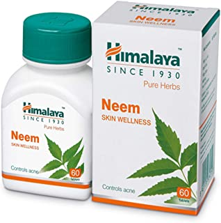 Himalaya Wellness Pure Herbs Skin Wellness Tablets - 60 Count (Neem)