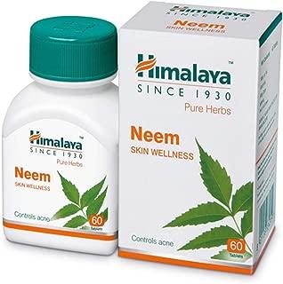 Himalaya Wellness Pure Herbs Neem Skin Wellness - 60 Tablets