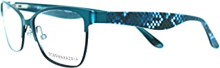 BCBG MAX AZRIA - AUDRA 51/15/130 BLUE TEAL - NEW Authentic WOMEN EYEGLASSES Frame