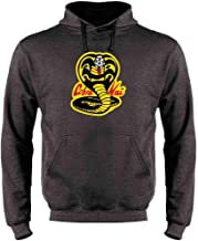 Cobra Kai Costume The Karate Kid Retro Martial Art Sweatshirt Hoodies for Men