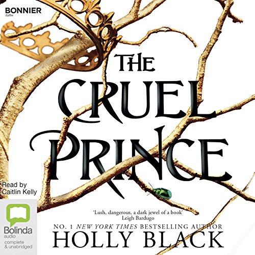 The Cruel Prince audiobook cover art