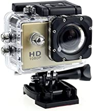 $79 » Waterproof Camera HD 1080P Sport Action Camera DVR Cam DV Video Camcorder (Gold)