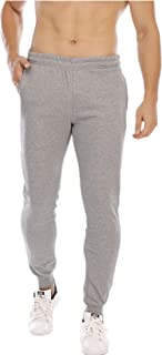 GUNLIRE Men's Sweatpants Joggers Gym Sports Workout Bodybuilding Slim Fit Tapered Running Pants with Pockets