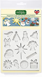 christmas card stencils uk