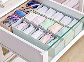 Angel Bear Socks Undergarments Storage Drawer Organiser Set of 4, (Colour May Vary) (Made in India)