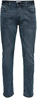 Only & Sons heren spijkerbroek ONSLOOM LIFE SLIM GREY PK 7090 NOOS