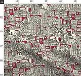 China, Toile De Jouy, Architektur, Hongkong, Stadt, Scrummy