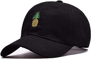 Pineapple Distressed Baseball Cap Dad Hat Women Men