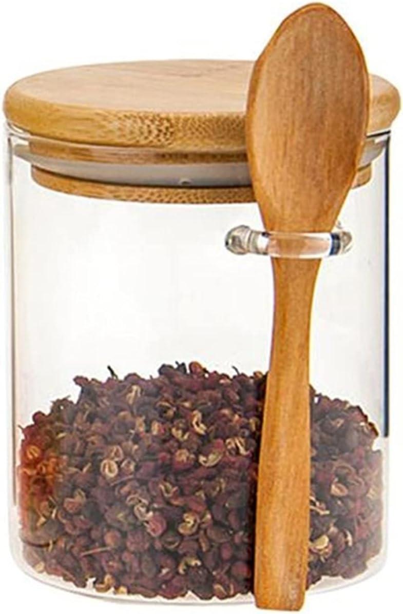 Clear glass jars spice Max 46% OFF supreme tea