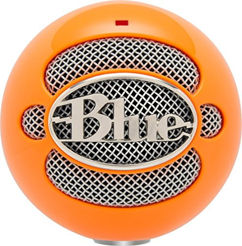 Blue Snowball USB Microphone (Bright Orange)