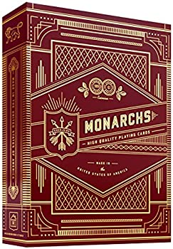 Monarch Playing Cards  Red  by theory11