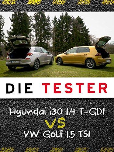 Die Tester: Hyundai i30 1.4 T-GDI vs VW Golf 1.5 TSI