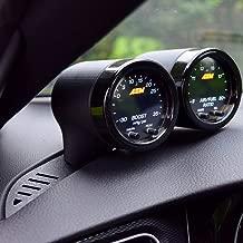 CJM Industries MK7/7.5 GTI & Golf R V3 Gauge Pod (Dual, Textured Vent Base)