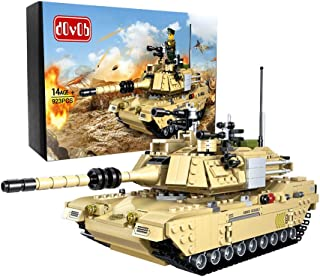 dOvOb Armed Tanks Building Blocks (923 PCS),Model Toys Gifts for Kid and Adult