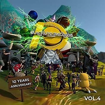 BLACKLITE RECORDS 10 YEARS ANNIVERSARY VOL. 4