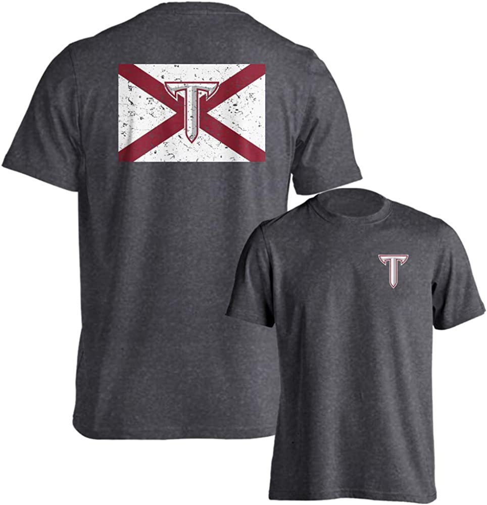 Troy Trojans Official Alabama 55% OFF Fan State T-Shirt Special sale item Flag