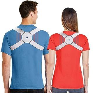 Eworld Smart Posture Corrector Reminder Vibration to Develop a Health Body Posture Adjustable Back Brace far Away Back Pai...