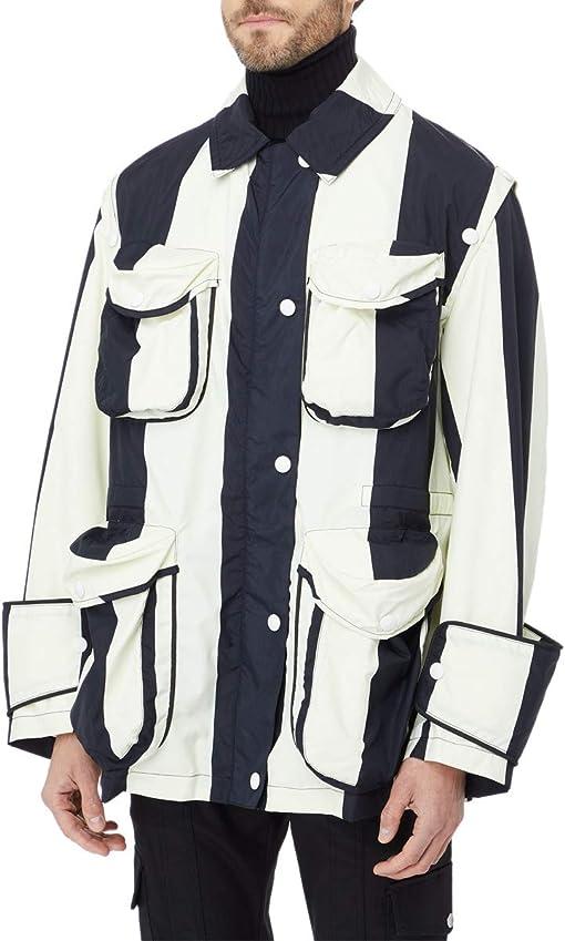 White/Black Stripes
