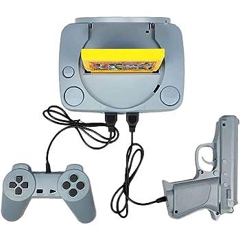 Amazon.es: Zinniaya Inicio Consola de Juegos Mango Tarjeta Amarilla enchufable Mini TV Consola de Juegos Consola de Juegos Doble Videojuego clásico