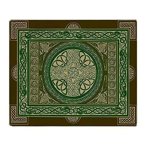 CafePress Single Sided Celtic Cross Blanket/Tapestry Soft Fleece Throw Blanket, 50'x60' Stadium Blanket