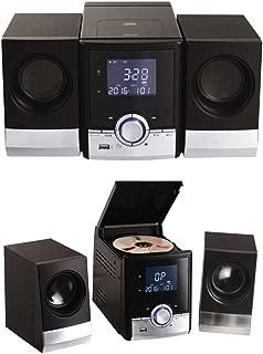 Clip Sonic Technology tes180Cadena Hi-Fi Bluetooth Negro/Plata