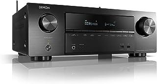 Denon AVR-X1500H - Receptores audio/video de alta definición, color negro