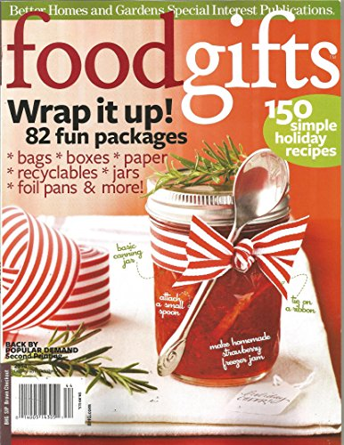 Food Gifts 2014 (Better Homes and Gardens Special Interest Publications Magazine)