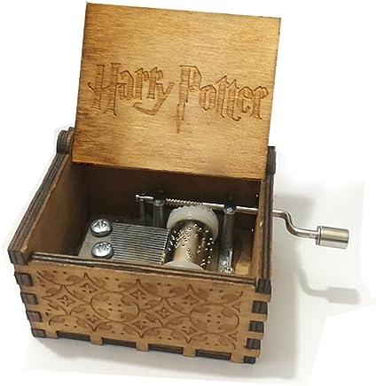 "BADARENXS Pure hand-classical ""harry potter "" music box hand-wooden music box creative wooden crafts best Gifts"