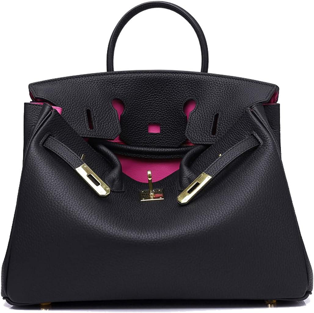Max 56% OFF Max 58% OFF CLNYRO Handbag Shoulder Bag Genuine Tote Cr Big Leather Capacity