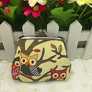 Liroyal Owl Coin Money Bag Purses & Coin Pouches for Women and Girls