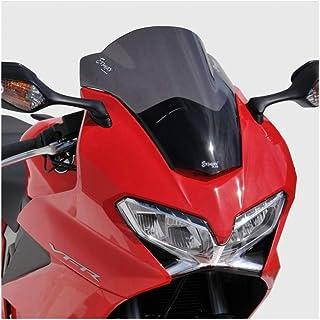 Pare-Brise de Moto Double Bulle QOHFLD Pare-Brise Moto pour Honda VFR800 VFR 800 2002 2003 2004 2005 2006 2007 2008 2009 2010 2011 2012