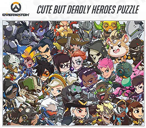 Overwatch: Cute But Deadly Heroes Puzzle