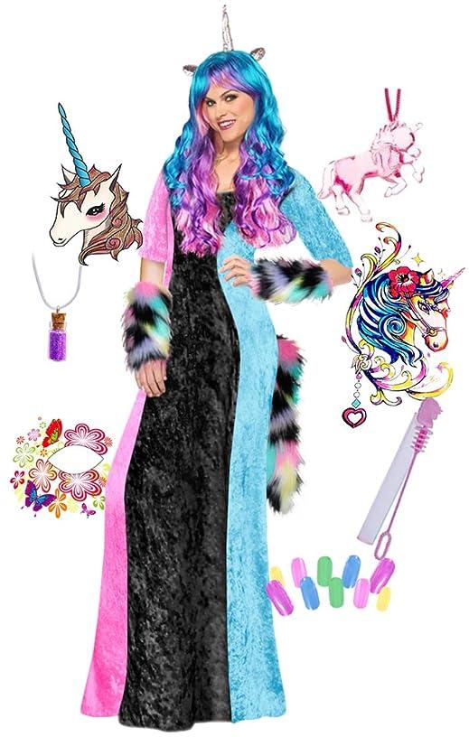 Black & Pastels Unicorn Plus Size Supersize Halloween Costume