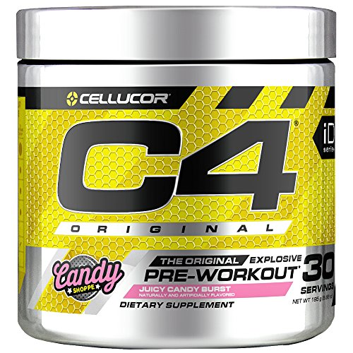 C4 Original Pre Workout Powder Juicy Candy Burst | Sugar Free Preworkout Energy Supplement for Men &...