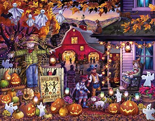 Vermont Christmas Company Halloween Barn Dance Countdown Calendar