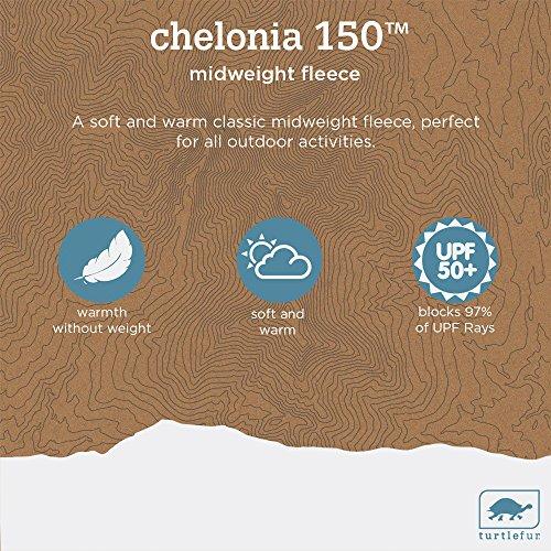 Turtle Fur Chelonia 150 Classic Fleece Double-Layer Neck Warmer, Red