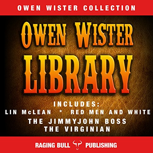 Owen Wister Library audiobook cover art
