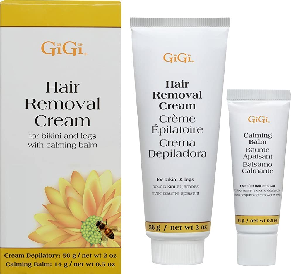 積分量で約束する(1) - Gigi Hair Removal Cream W/Balm For Bikini & Legs