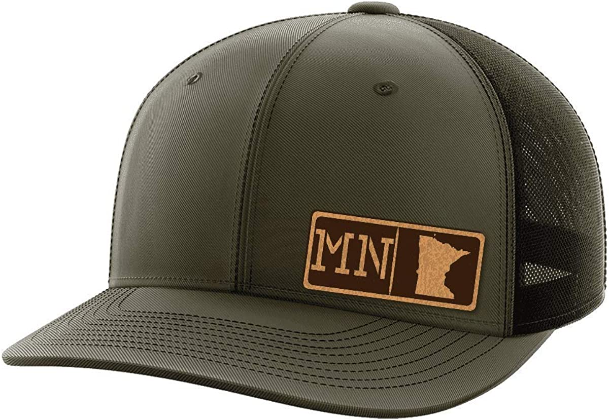 Minnesota Homegrown Leather Patch Hat