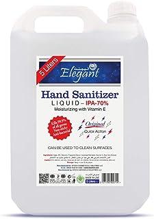 Elegant 5 liter Hand Sanitizer liquid 70% IPA