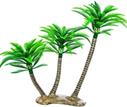 Hobby Central Artificial Miniature Plastic Tree (Coconut Tree Size Medium)
