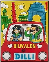 Chumbak Silicone I Love Delhi Magnet (Standard Size; Yellow)