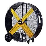 Master MAC-42-BDF' High Capacity Belt-Drive Barrel Fan—13,300 Cfm, 1/2 HP, 120 Volt