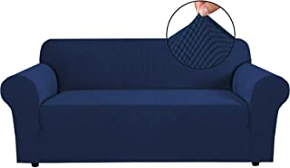Machine Washable Basic Strapless Slipcover Form Fit Slip Resistant Stylish Furniture Shield Protector Featuring Lightweigh...