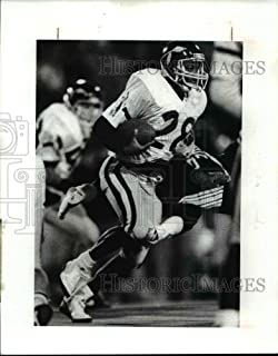 1989 Press Photo Warren Western Reserve running back Hank Powell (28)