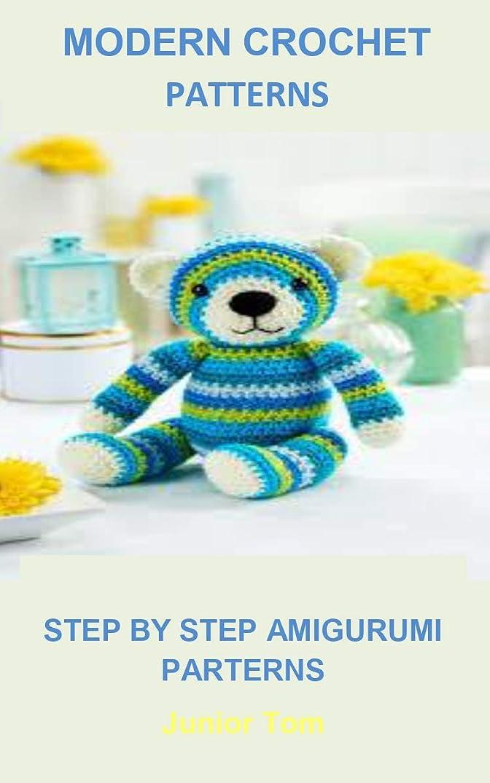 電気陽性十年情緒的Modern Crochet Parterns: MODERN CROCHET PARTERNS:Huggable Amigurumi-5 Whimsical Characters Using Super Bulky Weight Yarn, Makes them Extra Cuddly and Quick to Crochet (English Edition)