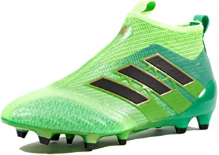 promo code d6caf ec000 adidas Ace 17+ Pure Control FG Enfants - Crampons de Foot - Vert Solaire