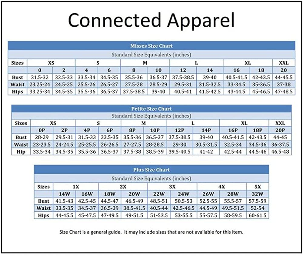 Connected Apparel womens Classic