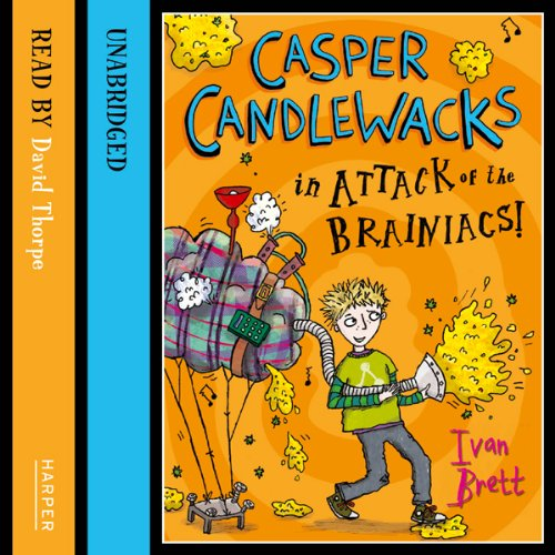 Casper Candlewacks in Attack of the Brainiacs! Titelbild