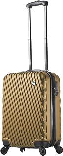 Mia Toro Mia Toro Italy Roulgatti Hardside 20'' Spinner Carry-on - Khaki, Khaki (Beige) - M1218S-20in-KAK